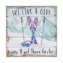 Ski Like a Girl  - Perfect Pallet Petite