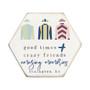 Amazing Memories Jockey PER - Honeycomb Coasters