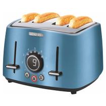 Sencor Premium Metallic Electric Toaster - 4 Slices