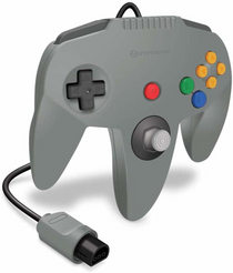 Captain Premium Controller for N64 - Gray