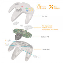 N64 Replacement Controller Silicone