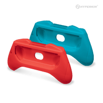 Pro Handle Attachment Set for Switch Joy-Con (Blue/Red) (2-Pack)