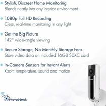 Panasonic HomeHawk 1080p Wireless Indoor Home Security Camera