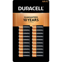 Duracell AA Alkaline Batteries CopperTop - 40 Pack