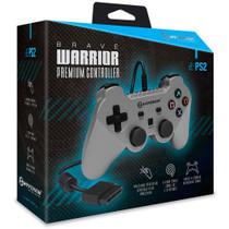 Brave Warrior Premium Controller for PS2 - Silver