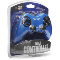 Wired Controller for PS2 - Blue