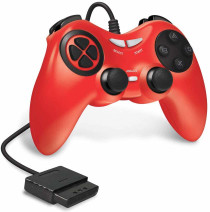 Wired Controller for PS2 - Red