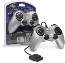 Wired Controller for PS2 - Silver