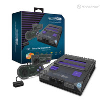 RetroN 2 HD Gaming Console for NES/ SNES/Super Famicom (Space Black)