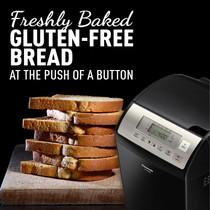 Panasonic Bread Maker with Gluten Free Mode and Yeast/Raisin/Nut Dispenser - SD-YR2500