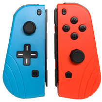 Joy-Con Controllers For Nintendo Switch - Neon Red / Blue