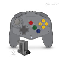 """""""Admiral"""" Premium BT Controller for N64 / Switch / Switch Lite - Space Black"""