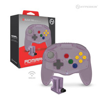 """Admiral"" Premium BT Controller for N64 / Switch / Switch Lite - Amethyst Purple"