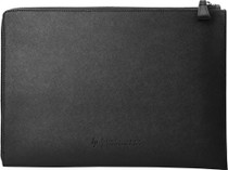 """HP Elite 12.5"""" Black Leather Sleeve For Surface, iPad, Samsung Tablets & Laptops"""