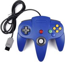 N64 Wired Controller (Bulk) - Blue