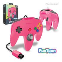 Captain Premium Controller for N64 - Princess Pink