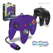 Captain Premium Controller for N64 - Rival Purple