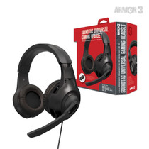 SoundTac Universal Gaming Headset for Switch / PS5 / Xbox Series / PC - Black