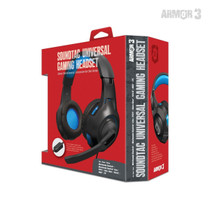 SoundTac Universal Gaming Headset for Switch / PS5 / Xbox Series / PC - Blue