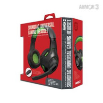 SoundTac Universal Gaming Headset for Switch / PS5 / Xbox Series / PC - Green