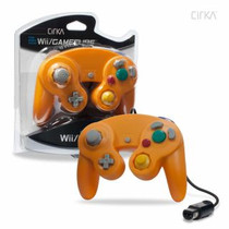 Wired Controller for Wii / GameCube - Orange