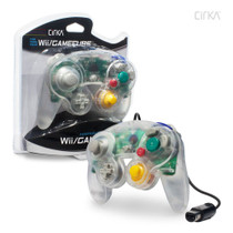 Wired Controller for Wii / GameCube - Clear