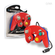 Wired Controller for Wii / GameCube - Red / Blue