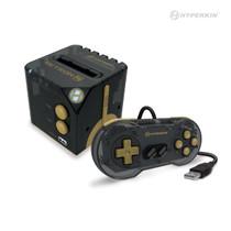 Hyperkin RetroN Sq: HD Gaming Console for Game Boy/Game Boy Color/Game Boy Advance (Black Gold)