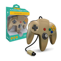 Tomee Nintendo 64 Controller for N64 (Gold)