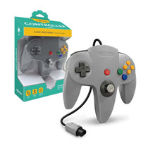 Tomee Nintendo 64 Controller for N64 (Gray)