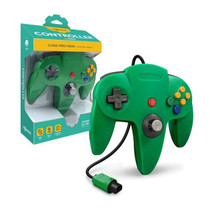 Tomee Nintendo 64 Controller for N64 (Green)