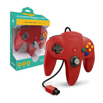 Tomee Nintendo 64 Controller for N64 (Red)