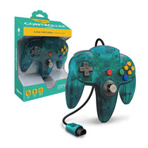 Tomee Nintendo 64 Controller for N64 (Turquoise)
