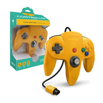 Tomee Nintendo 64 Controller for N64 (Yellow)