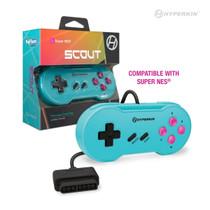"""Scout"" Premium Controller for SNES - (Hyper Beach)"