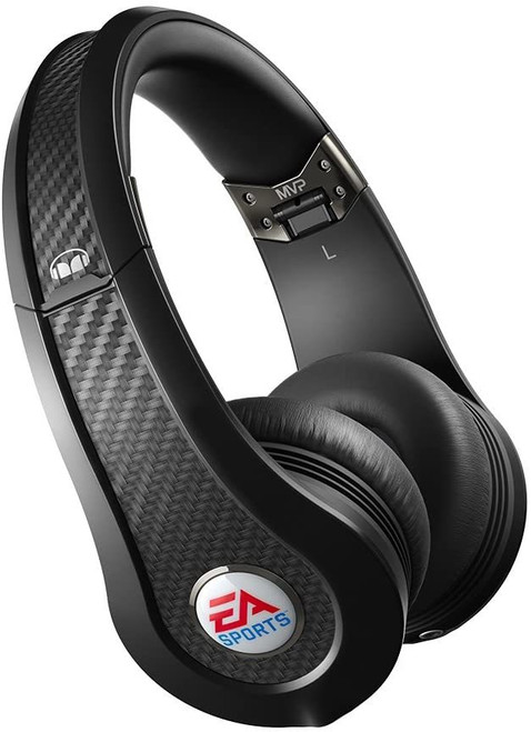 EA Sports Monster MVP Carbon On-Ear Wired Headphones
