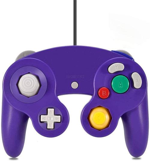 GameCube Wired Controller - Purple
