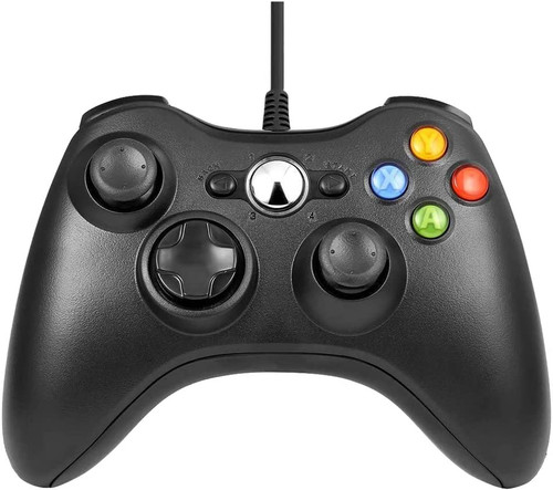 Xbox 360 Wired Controller (Bulk) - Black