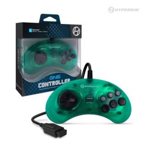 """Genesis """"GN6"""" Premium Controller - Mermaid Green"""
