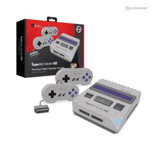SupaRetroN HD Gaming Console for SNES / Super Famicom - Gray