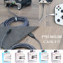 TANK Premium 10' USB to USB-C Charge Cable - Black
