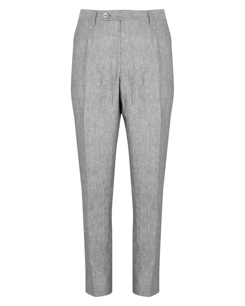 Grey Linen Trousers
