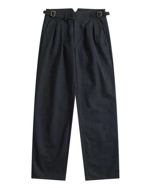 Chairman Navy Cotton Gurkha Pants