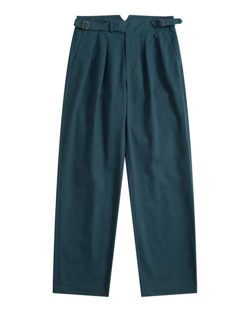Cornflower Blue Cotton Gurkha Pants