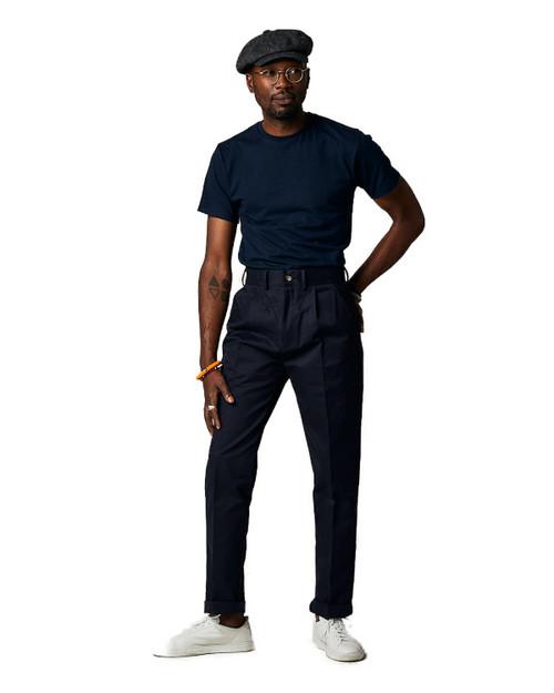Navy Cargo Trouser