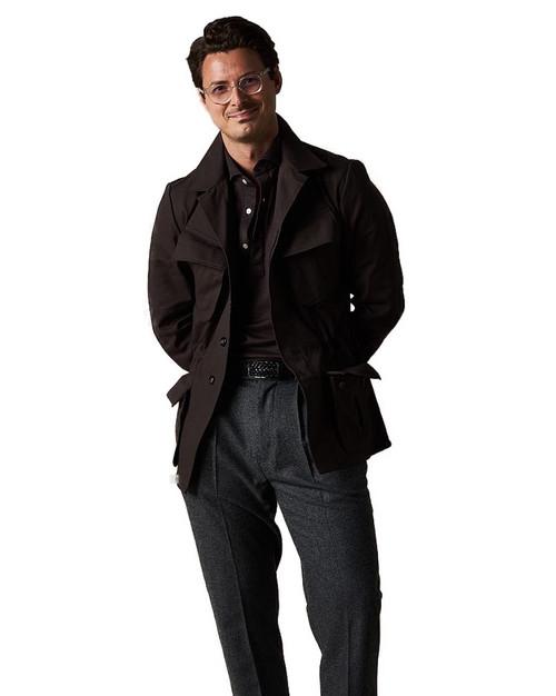 Ash Brown Jungle Jacket