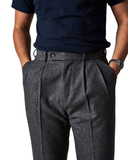 Mid-Grey Easy Trousers