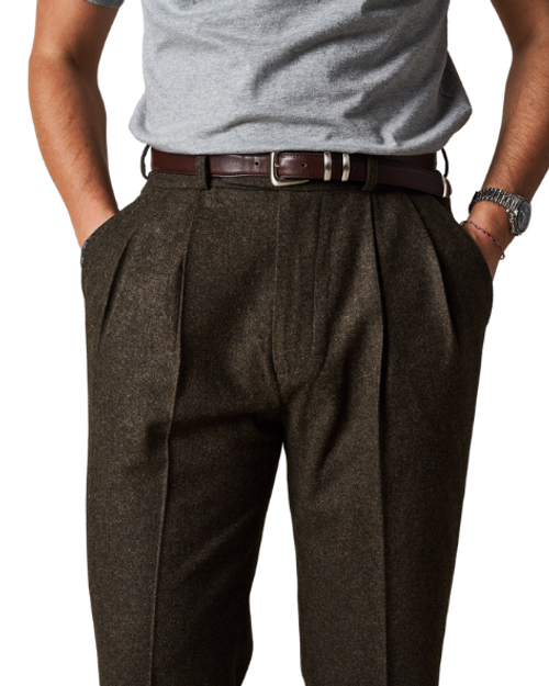 Dark Forest Green Easy Trousers