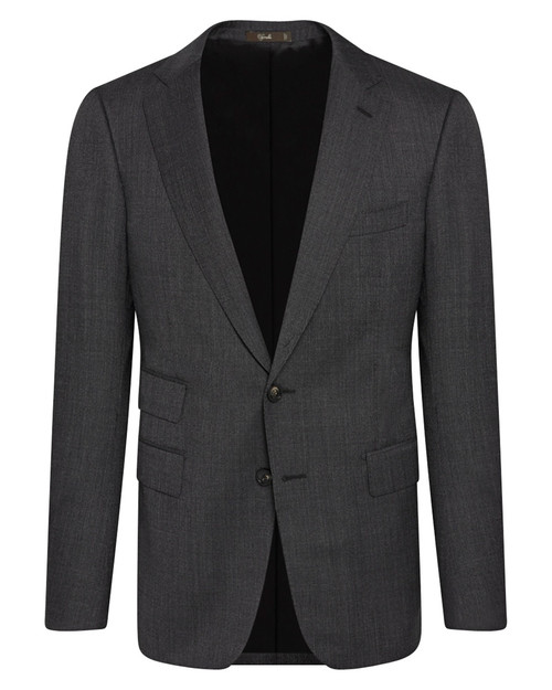 Marbeuf Charcoal Grey Wool Single Breasted Suit