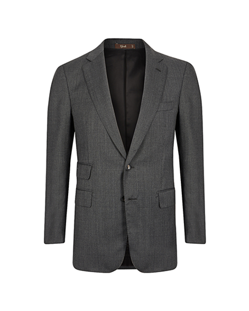 Marbeuf Grey Wool Single Breasted Suit